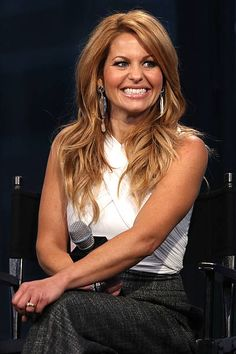Candace Cameron Bure attends the AOL Build Speakers Series to discuss 'Fuller House' at AOL Studios In New York on February 2016 in New York City. Browse AOL Build Speakers Series - Candace Cameron Bure, Jodie Sweetin, Andrea Barber and Jeff Franklin, Dj Tanner, Light Blonde Highlights, Dark Blonde Hair, Full House, Candice Cameron Bure Hair, Andrea Barber, Candance Cameron, New York City, Beauty