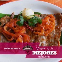 Cecina: Originaria de la región Morelense de Yecapixtla, la cual es carne de res condimentada y puesta a semi secar.