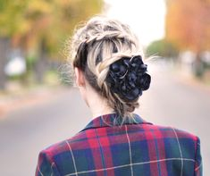 Most awesome french braid ever.