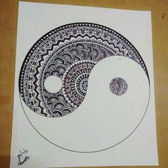 Yin Yang... The balance between good and bad.