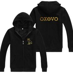 c79051c2825236 Drake OVOXO Hoodie Zip Up Cardigan OVO Gold Owl Gang Gold Printed Hoodie.  Drake PhotosDrake ClothingClothing IdeasOctobers Very OwnGold ...