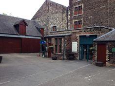 Glenkinchie Distillery outside Edinburgh, Scotland