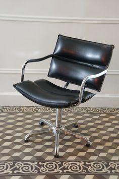 fauteuil de bureau 70 - Bleu Attu Salon