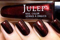 Julep Caroline Swatch Nail Polish Direct Light Closeup