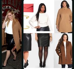 Click to find out how to recreate Hilary Duffs's outfit for plus sizes on our blog!