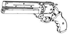 Cyberpunk 2020 remington Stormbreaker
