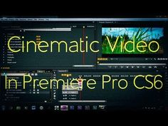 Adobe premiere pro cs55 etalonnage tutoriel franais tutos a video on how to make video look a lot more clearer more contrasty and over all more interesting ideal for a short film letterbox widescreen templates spiritdancerdesigns