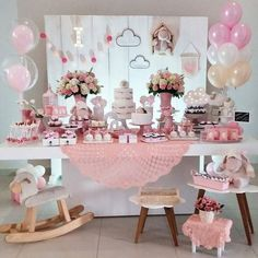 25 Ideas photography kids ideas diy birthday parties for 2019 Festa Party, Diy Party, Diy Birthday, Birthday Parties, Baby Tea, Ballerina Party, Bday Girl, Baby Shower Themes, Birthday Decorations