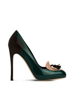 fall 2012, Gianvito Rossi, shoes, platforms, high heels, green