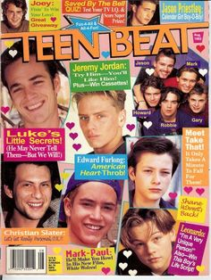 this and tiger beat magazine were my go-to's