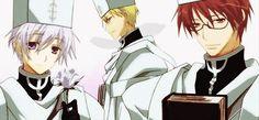 Les évêques Castor -Feist- (le Brun) Labrador -Profe- (celui au cheveux violet) Frau -Zehel- (un blond pervers)