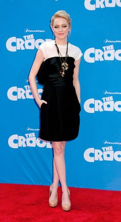 Emma Stone at 'The Croods' Premiere - New York