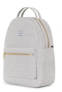 07e8a72e3a80e Nova Backpack Mid Volume Rucksack Herschel hellgrau meliert - Bags   more