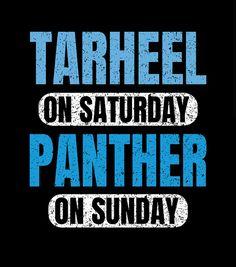 Tar Heels, Carolina Panthers, Signs, Shop Signs, Sign