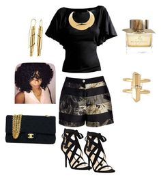 """""""Untitled #115"""" by aylali2483 on Polyvore featuring Ted Baker, Nine West, Stella & Dot, Oblik Atelier, Lanvin, Chanel and Burberry"""
