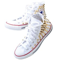 0c584310331ea 37 Best Studs Converse images in 2016 | Rare sneakers, Studded ...