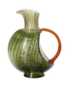 KOSTA BODA  -  CORFU PITCHER in  GREEN