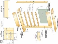 Pool cue rack architectural accents pinterest pool for Cue rack plans
