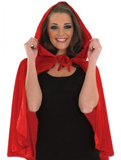 Little Red Riding Hood Cape From Angels - Angels Fancy Dress Costumes