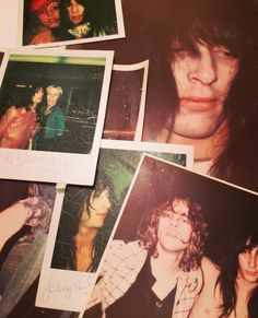 Various Johnny polaroids from 1973... found on instagram Polaroids, Polaroid Film, Johnny Thunders, July 15, Punk Rock, Rock N Roll, Happy Birthday, Box, Music
