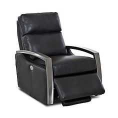A Gift for The Movie Buff... A sleek, innovative shape, our Alloy recliner features streamlined metal arms and a plush seat for effortless comfort. Available with a 2-motor, 1-motor or a manual pull-back reclining system. Go for it! Free shipping through 12/22/15.