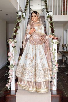 Asian Bridal Dresses, Pakistani Wedding Outfits, Indian Bridal Outfits, Indian Bridal Fashion, Pakistani Bridal Dresses, Indian Fashion Dresses, Pakistani Wedding Dresses, Punjabi Wedding Suit, Pakistani Bridal Lehenga