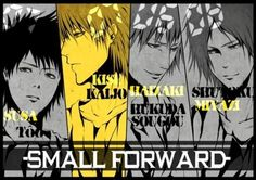 黑子的篮球 Small Forward