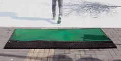 DDB China – Green Pedestrian Crossing