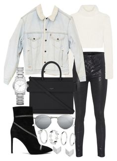 """""""Untitled #20881"""" by florencia95 ❤ liked on Polyvore featuring rag & bone, Roberto Cavalli, Urban Renewal, Givenchy, Pierre Balmain, Ray-Ban, Burberry and FOSSIL"""