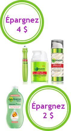 Jusqu'à 6 $ de rabais sur produits Garnier.   http://rienquedugratuit.ca/coupons/rabais-produits-beaute-garnier/