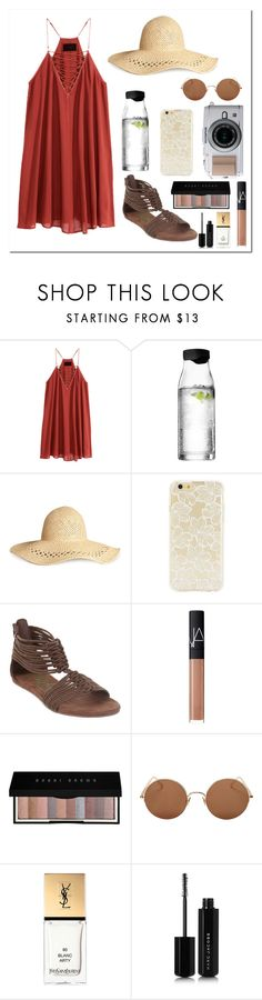 """""""4/20/17"""" by emilyxcourtney ❤ liked on Polyvore featuring H&M, Menu, Forever 21, Blowfish, NARS Cosmetics, Bobbi Brown Cosmetics, Sunday Somewhere, Yves Saint Laurent and Marc Jacobs"""