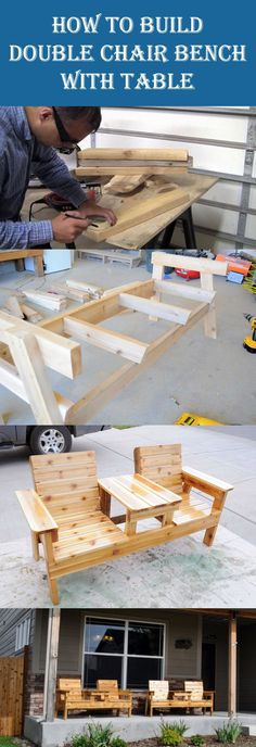 10 Insanely Cool DIY Outdoor Furniture Ideas