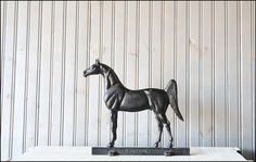 Cast Iron Horse // Virginia Metalcrafters by buffalowinter on Etsy, $155.00