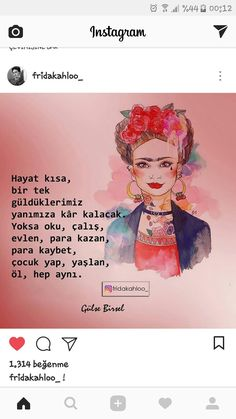 Instagram, Frida Kahlo, Quotes