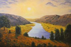 Hudson River School Paintings | Thank you for viewing my work!