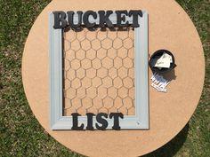 Your Bucket List Framed!   Www.etsy.com/shop/unINKway