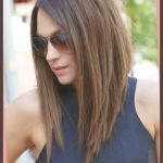 Angled Long Haircut Pertaining To Hairstyle … | Hair | Pinterest For Long Hairstyles Bob