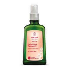 Weleda Pregnancy Body Oil prevents stretch marks, leaving skin smooth, elastic and flexible. Help your skin to keep natural tone and resilience during and after pregnancy. Oil For Stretch Marks, Prevent Stretch Marks, Massage Relaxant, Pregnancy Care, Oil Uses, Fragrance Parfum, Natural Essential Oils, Sweet Almond Oil, Jojoba Oil