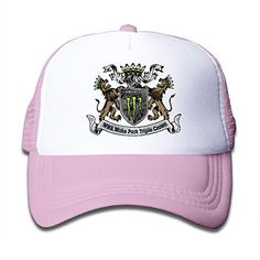 Custom Casual Flat Billed Stand Beast Trucker Cap Hat Pink
