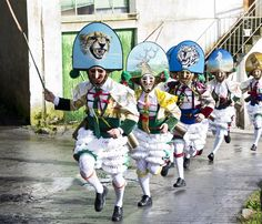 Peliqueiros, Carnaval en Galice (Espagne)