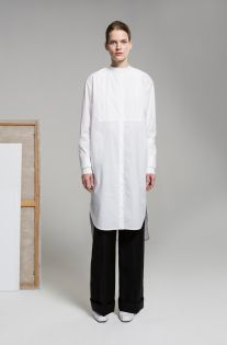 Nehera Pre-Fall 2019 Fashion Show Collection: See the complete Nehera Pre-Fall 2019 collection. Look 5 Fashion News, Mens Fashion, White Shirts, Fashion Show Collection, Chef Jackets, Autumn Fashion, Normcore, Vogue, Shirt Dress