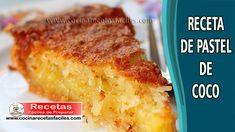 """Search for """"Pastel de coco"""" Chocolates, Sweets Cake, Ceviche, Culinary Arts, Sin Gluten, Deli, Amazing Cakes, Banana Bread, Cake Recipes"""