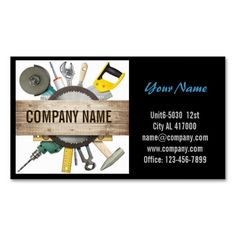187 best construction business cards images on pinterest mechanical tools handyman carpentry construction business card reheart Choice Image