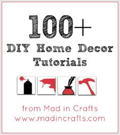 MAD IN CRAFTS: HOME DECOR
