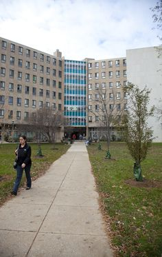 """West Chester University   West Chester , Pa.  Goshen Residence Hall  """"HOME"""" for my first 2 years!"""