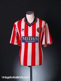 2000-02 Sheffield United Home Shirt M  #RePin by AT Social Media Marketing - Pinterest Marketing Specialists ATSocialMedia.co.uk