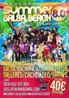 Entradas para Summer Salsa Beach 8.0 by Latin Jam desde 40€ en go&dance