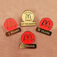 #custom #metalpins for #mcdonalds from #ScorePromotions