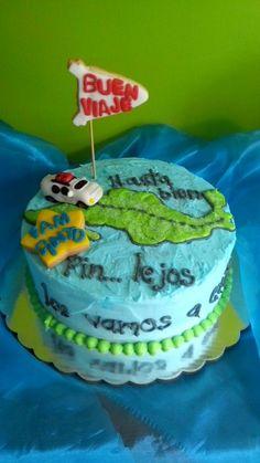 Buen viaje cake