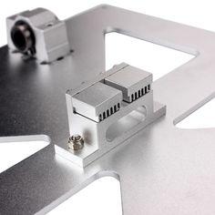 Prusa i3 RepRap Mendel Aluminum Alloy Z Axis Y Carriage Plate Timing Belt Holder   eBay
